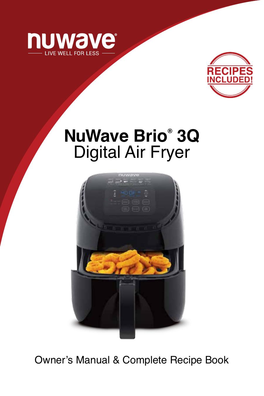 Nuwave Nuwave Brio 3q 36011 Owner S Manual Manualzz