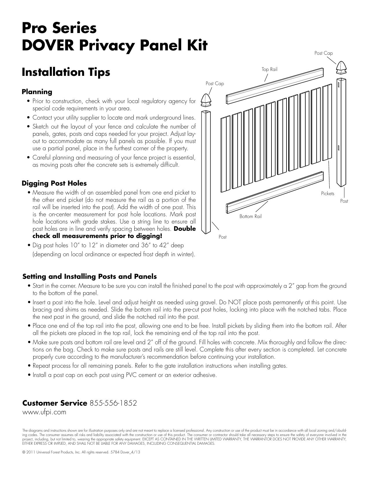 veranda 245314 5 in x 5 in x 9 ft white vinyl pro fence