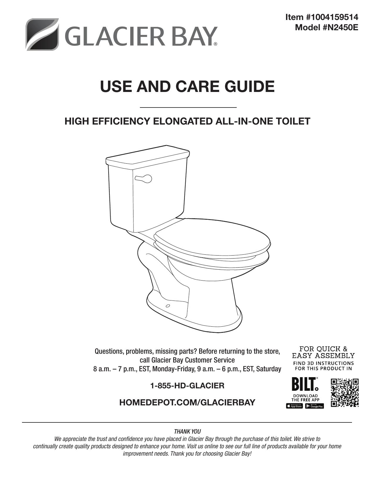 Glacier Bay N2450e Installation Guide Manualzz