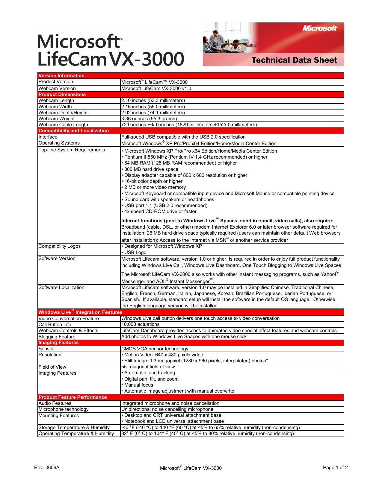 Microsoft Lifecam Vx-1000 Software For Mac
